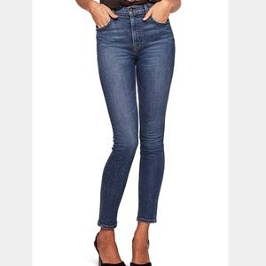 REFORMATION High and Skinny Jeans Rhine